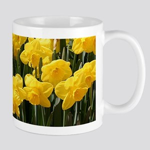 Daffodil flowers in bloom Mug